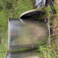 1000 L stainlesss steel variable capacity tank