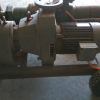 75 mm mono pump with manual variable speed drive