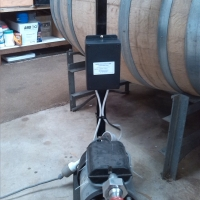 Wireless Remote Wine Pump Controller