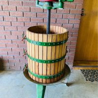 Wooden Wine Press